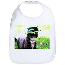 Saint Patrick kitty Bib
