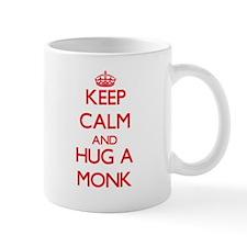 Keep Calm and Hug a Monk Mugs
