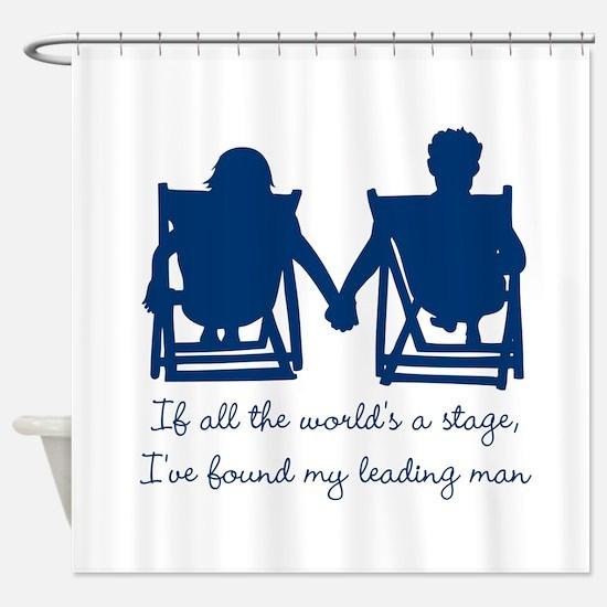 Leading Man Shower Curtain