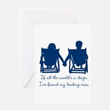 Leading Man Greeting Cards