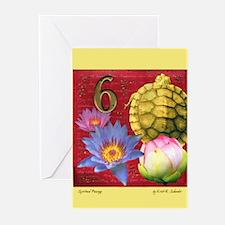 Spiritual Passage Blank Greeting Cards (Pk of 10)