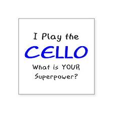play cello Sticker