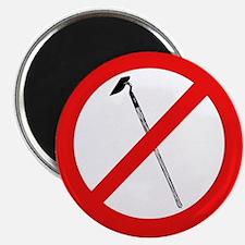 No More Hoes Magnet