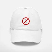 No More Hoes Baseball Baseball Cap