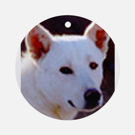 canaan dog Ornament (Round)