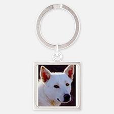canaan dog Keychains