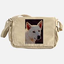 canaan dog Messenger Bag