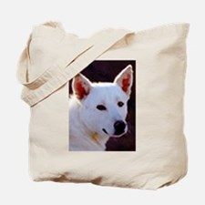 canaan dog Tote Bag