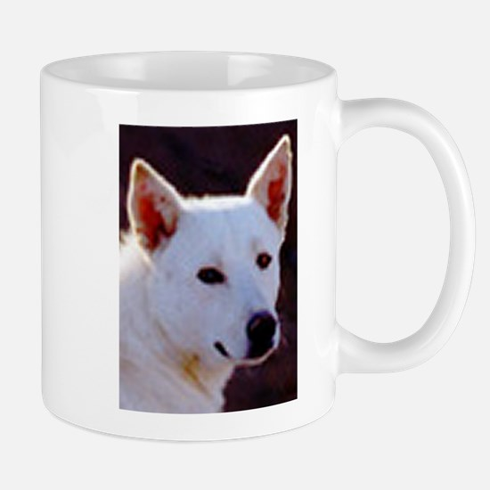 canaan dog Mugs