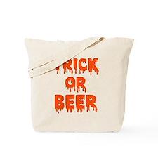 Trick or beer Tote Bag