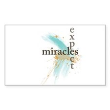 Expect Miracles Decal