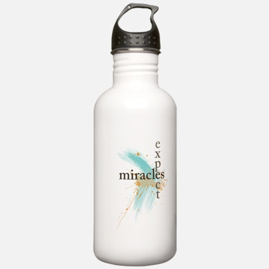 Expect Miracles Water Bottle