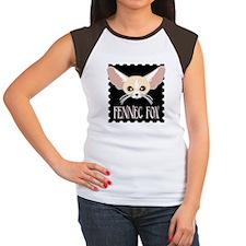 Cute Fennec Fox Cartoon T-Shirt