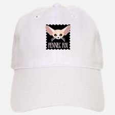 Cute Fennec Fox Cartoon Baseball Baseball Baseball Cap