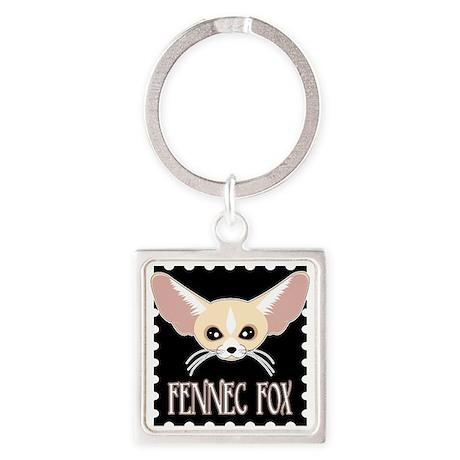 Cute Fennec Fox Cartoon Keychains