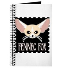 Cute Fennec Fox Cartoon Journal
