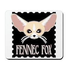 Cute Fennec Fox Cartoon Mousepad