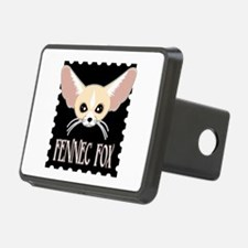 Cute Fennec Fox Cartoon Hitch Cover