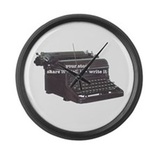 Your Story Large Wall Clock