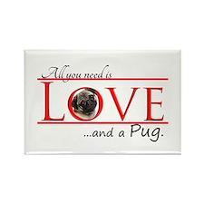 Love a Pug Magnets