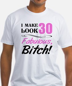 Fabulous Attitude 30th Birthday Shirt