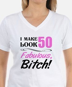 Fabulous Attitude 50th Birt Shirt