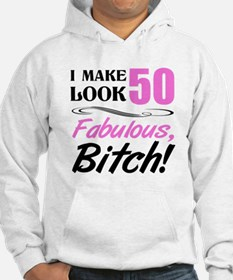 Fabulous Attitude 50th Birthday Hoodie