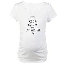 Keep Calm and Control Alt Delete (black) Shirt