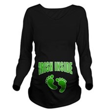 IRISH INSIDE Long Sleeve Maternity T-Shirt