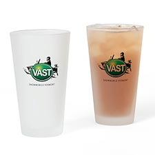 VAST Logo Drinking Glass