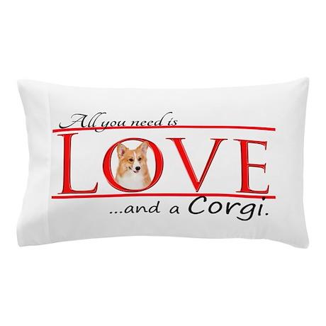 Love a Corgi Pillow Case
