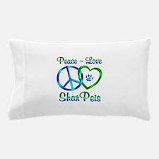 Peace Love Shar Peis Pillow Case
