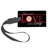 Welsh corgi Luggage Tags