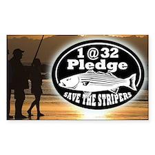 1@32 Pledge Decal