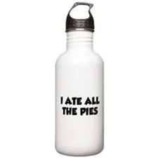 I Ate All The Pies Water Bottle