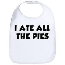 I Ate All The Pies Bib