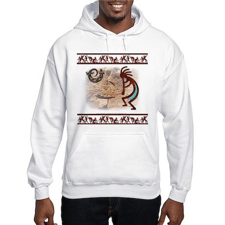 Kokopelli #7 Hooded Sweatshirt