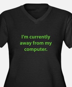 I'm Currently Away From My Computer Women's Plus S