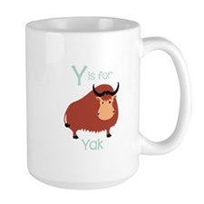 Y Is For Yak Mugs