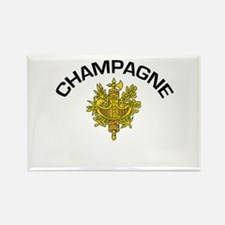 Champagne, France Rectangle Magnet