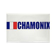 Chamonix, France Rectangle Magnet