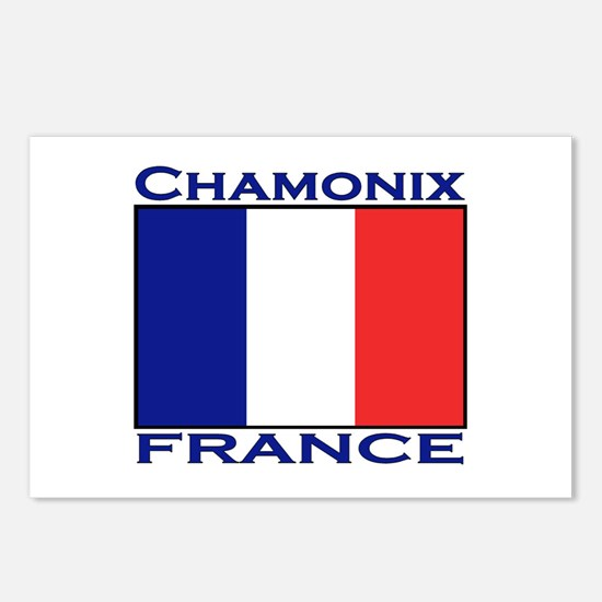 Chamonix, France Postcards (Package of 8)