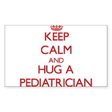 Keep Calm and Hug a Pediatrician Decal
