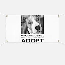 Adopt Puppy Banner