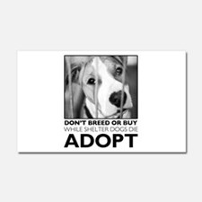 Adopt Puppy Car Magnet 20 x 12