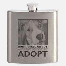 Adopt Puppy Flask