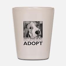 Adopt Puppy Shot Glass