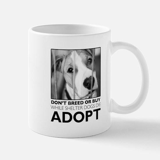 Adopt Puppy Mugs