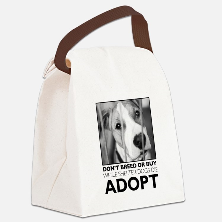 Adopt Puppy Canvas Lunch Bag