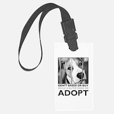 Adopt Puppy Luggage Tag